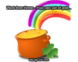 work from home pot of gold 300x240 Why Work from Home   My Top 10 Reasons